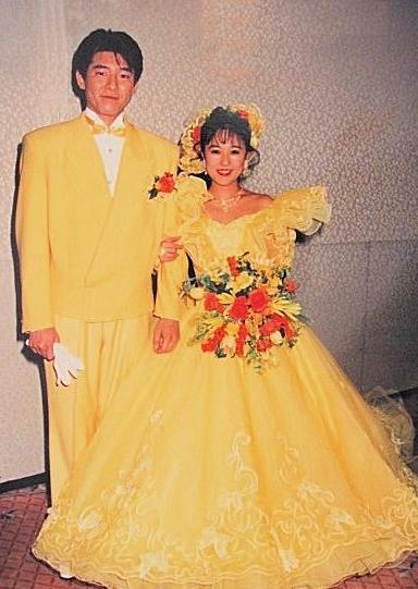 つちやかおり&布川敏和結婚式画像