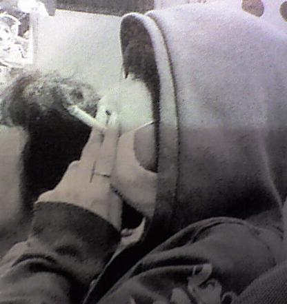 後藤真希タバコ喫煙画像