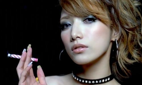 後藤真希タバコ喫煙画像④