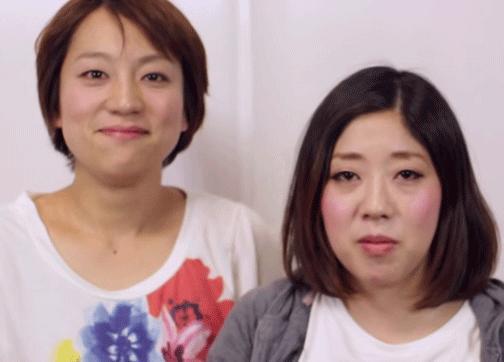 日本エレキテル連合すっぴん素顔画像②