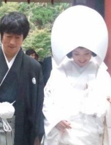 永作博美結婚画像
