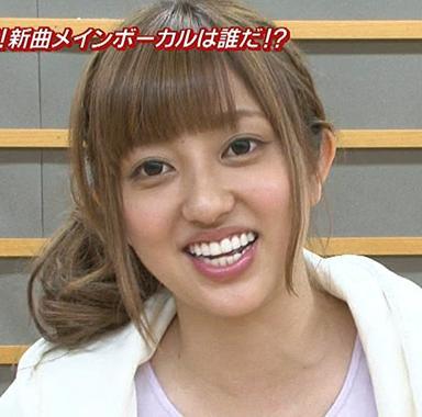 菊地亜美歯整形後画像②